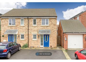 Thumbnail 2 bed semi-detached house to rent in Damselfly Road, Northampton