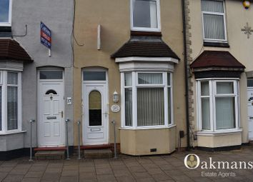 Thumbnail 2 bed terraced house to rent in Chatham Road, Birmingham, West Midlands.