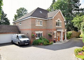 Thumbnail 6 bed detached house for sale in Amber Hill, Camberley, Surrey