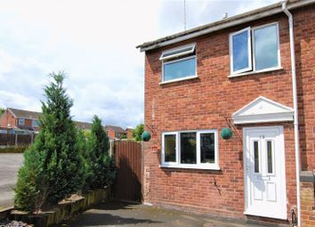 Thumbnail 2 bed end terrace house for sale in Parva Court, Uttoxeter