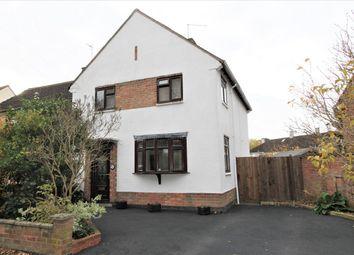 Thumbnail 3 bed semi-detached house for sale in Aldgate Avenue, Evington, Leicester