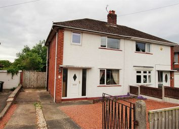 Thumbnail 2 bed semi-detached house for sale in Green Lane, Belle Vue, Carlisle, Cumbria