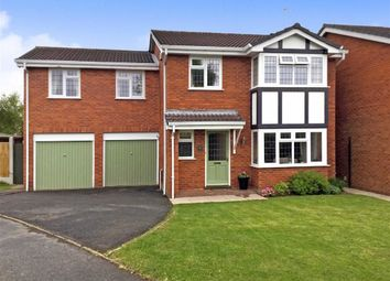 Thumbnail 4 bed detached house for sale in Lytham Road, Perton, Wolverhampton