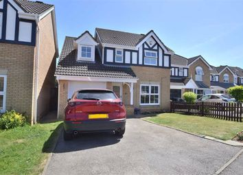 Thumbnail 4 bed detached house for sale in Trajan Gate, Chells Manor, Stevenage, Herts