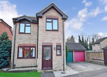 Thumbnail 3 bed detached house for sale in Foley Close, Willesborough, Ashford, Kent