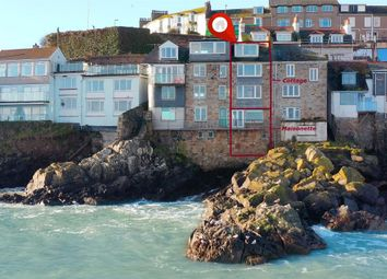 Thumbnail 4 bed terraced house for sale in The Warren, St. Ives, Cornwall