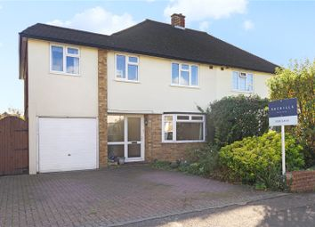 4 bed semi-detached house for sale in Cardinal Drive, Walton-On-Thames, Surrey KT12