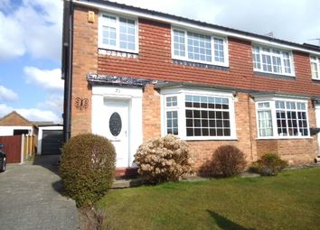 Thumbnail 3 bed semi-detached house to rent in Blythe Avenue, Bramhall, Stockport