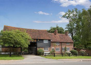 Thumbnail 4 bed detached house for sale in Denham Lane, Chalfont St. Peter, Gerrards Cross, Buckinghamshire