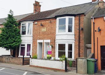 Thumbnail 2 bedroom semi-detached house for sale in Lynn Road, Wisbech