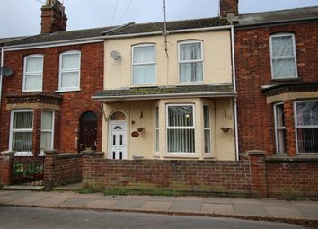 Thumbnail 3 bed terraced house for sale in Whitefriars Road, King's Lynn