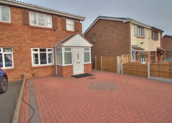 Thumbnail 3 bedroom semi-detached house for sale in Pebworth Grove, Dudley