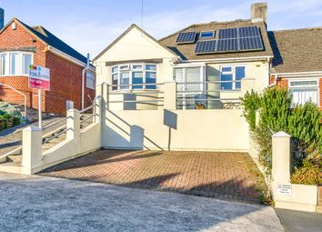 Thumbnail 3 bed semi-detached bungalow for sale in Treverbyn Road, Plympton, Plymouth