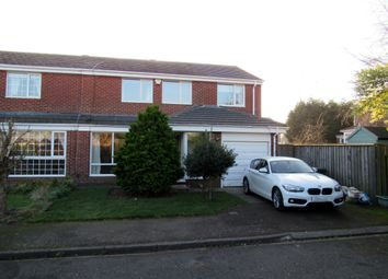Thumbnail 4 bedroom semi-detached house for sale in Irthing, Ellington, Morpeth