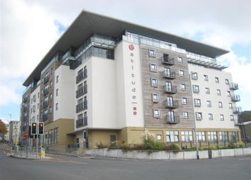 Thumbnail 3 bed flat for sale in Latitude 52, Plymouth