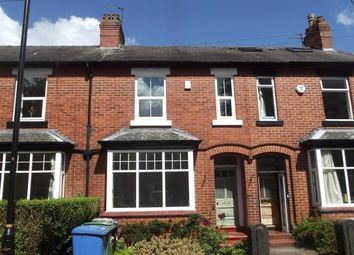 Thumbnail 3 bed terraced house to rent in Linden Avenue, Altrincham