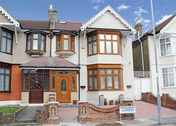 Thumbnail 5 bedroom end terrace house for sale in Highlands Gardens, Ilford, Essex