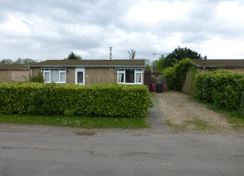 Thumbnail 2 bedroom detached bungalow for sale in Green Road, Upwell, Wisbech