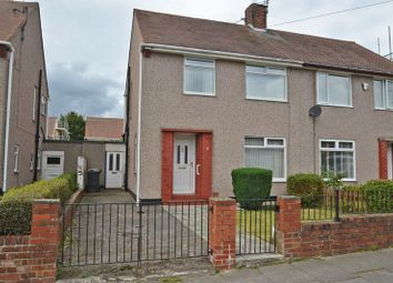 Thumbnail 3 bed semi-detached house for sale in Wark Avenue, North Shields