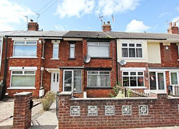 Thumbnail 2 bed terraced house for sale in Chester Road, Hull