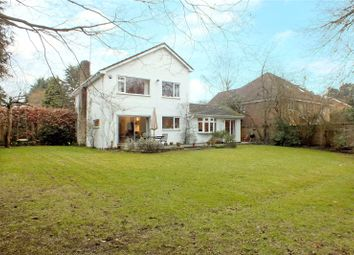 Thumbnail 4 bed detached house for sale in Dundaff Close, Camberley, Surrey