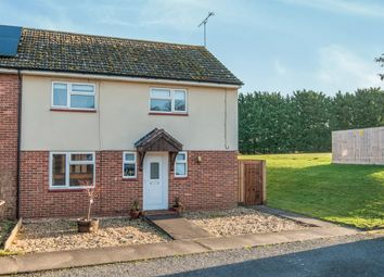 Thumbnail 3 bedroom end terrace house for sale in Portal Close, Barnham, Thetford