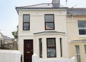 Thumbnail 4 bedroom end terrace house for sale in West Hill Road, Mutley, Plymouth