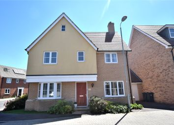 Thumbnail 4 bed detached house for sale in The Croft, Little Canfield, Dunmow