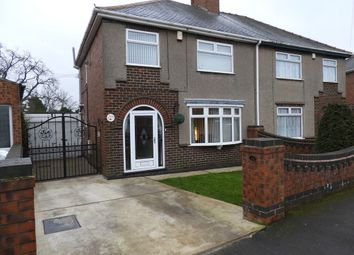 Thumbnail 3 bed semi-detached house for sale in Hill Crescent, Sutton-In-Ashfield