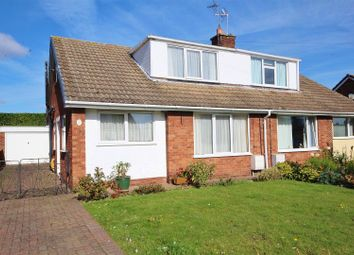 Thumbnail 3 bed semi-detached bungalow for sale in Beaumont Place, Brayton, Selby