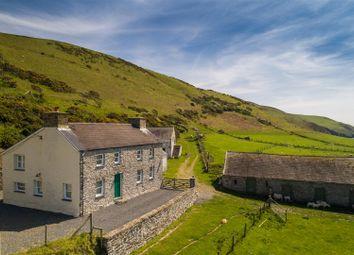 Thumbnail Farmhouse for sale in Blaenplwyf, Aberystwyth