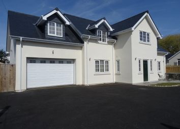 Thumbnail 4 bed detached house for sale in Newton Village, Porthcawl