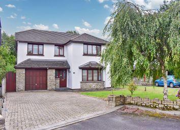 Thumbnail 4 bed detached house for sale in Parkfields, Pen-Y-Fai, Bridgend .