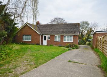 Thumbnail 3 bed detached bungalow to rent in Benhall Green, Benhall, Saxmundham