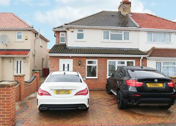 Thumbnail 4 bed semi-detached house for sale in Warrington Avenue, Slough, Berkshire