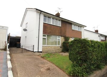 Thumbnail 3 bed semi-detached house for sale in Highfield Road, Caerleon, Newport
