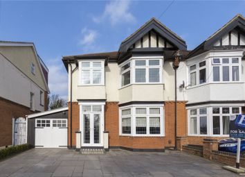 Thumbnail 3 bed semi-detached house for sale in Highview Gardens, Upminster