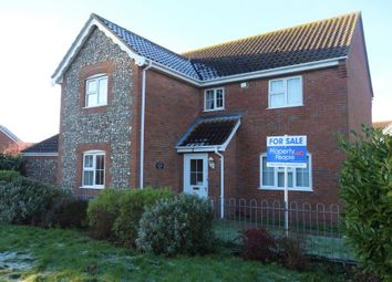 Thumbnail 4 bedroom detached house for sale in Heritage Green, Kessingland, Lowestoft, Suffolk