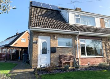 Thumbnail 3 bedroom semi-detached house for sale in Thonock Drive, Saxilby, Lincoln