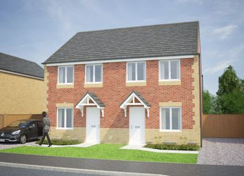 Thumbnail 3 bed semi-detached house for sale in The Lisburn At Lowfield Park, Lowfield Road, Bolton On Deane