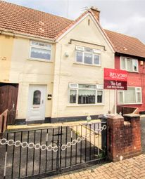 Thumbnail 3 bed semi-detached house to rent in Pennard Avenue, Huyton, Liverpool