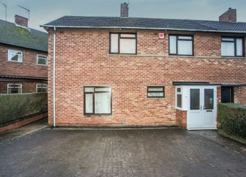 Thumbnail 3 bed semi-detached house for sale in Yates Avenue, Newbold, Rugby
