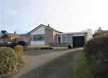 Thumbnail 4 bed detached bungalow for sale in Gwelfor Estate, Cemaes Bay
