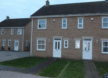 Thumbnail 3 bed terraced house to rent in Valentine Close, Manea, March