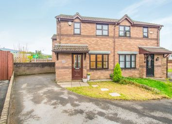 Thumbnail 3 bed semi-detached house for sale in Castell Morgraig, Caerphilly
