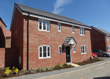 Thumbnail 4 bed detached house to rent in Carnoustie Drive, Priors Hall, Corby