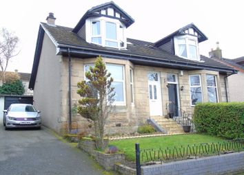 Thumbnail 3 bed semi-detached house for sale in Kennedy Drive, Cairnhill, Airdrie, North Lanarkshire