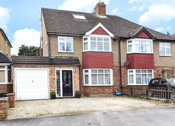 Thumbnail 4 bedroom semi-detached house for sale in Winton Crescent, Croxley Green, Rickmansworth, Hertfordshire