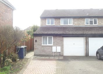 Thumbnail 3 bed semi-detached house to rent in Missleton Court, Cambridge