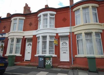 Thumbnail 2 bed terraced house to rent in Northbrook Road, Wallasey, Wirral